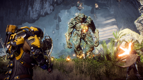 """Anthem, """"Shoot the glowing thingy!"""""""