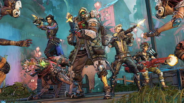 Borderlands 3 Crew in Action