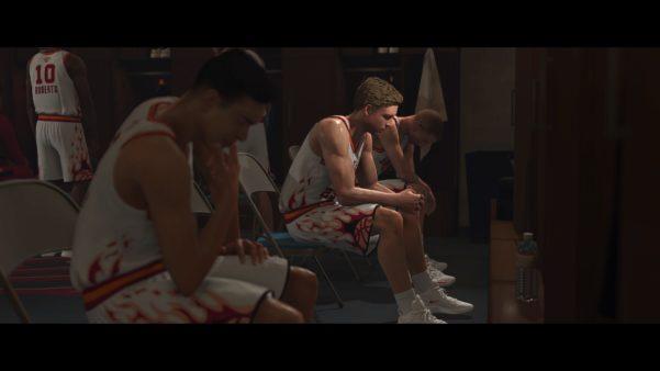 Self reflection in NBA 2K20