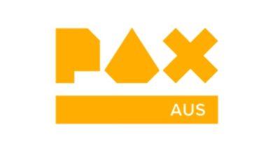 A logo for PAXAus 2019