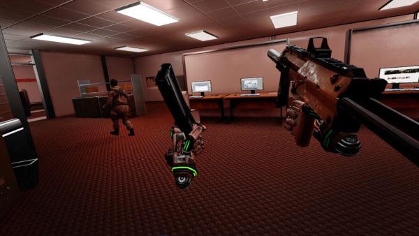 Espire 1 VR Operative - Reloading