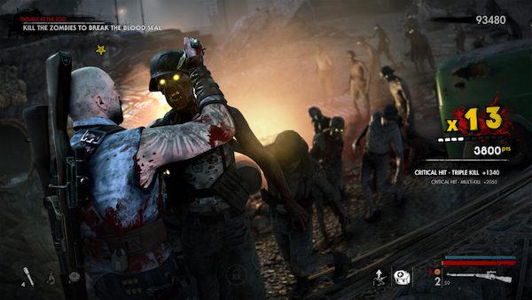 Zombie Army 4 Points