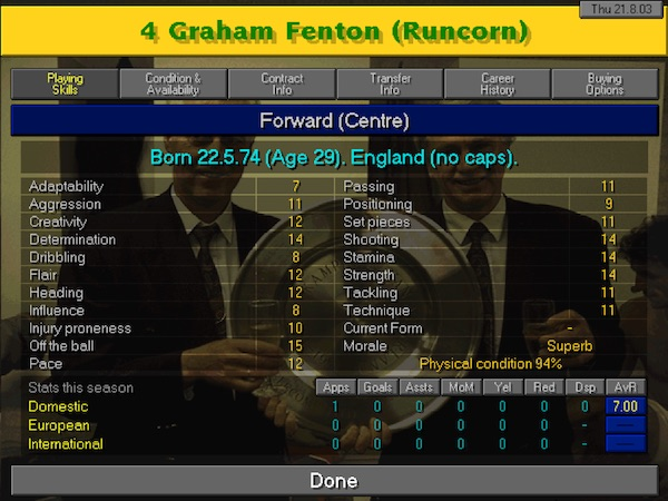 Goal Machine Fenton