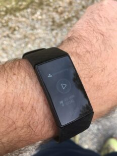 FitBit: Charge 4 - taking up real estate