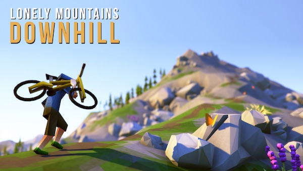 Lonely Mountains Downhill banner