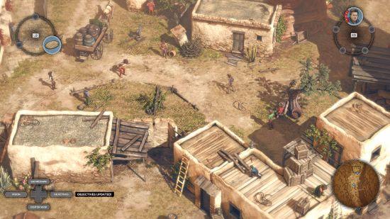Desperados 3 - village
