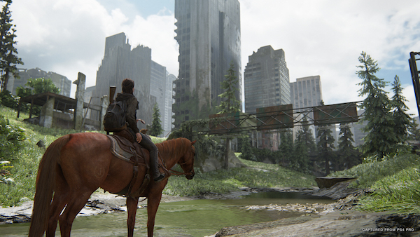 The Last of Us Part 2 Ellie on horse