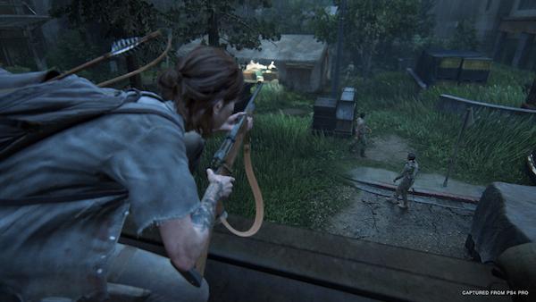 The Last of Us Part II Sneaky