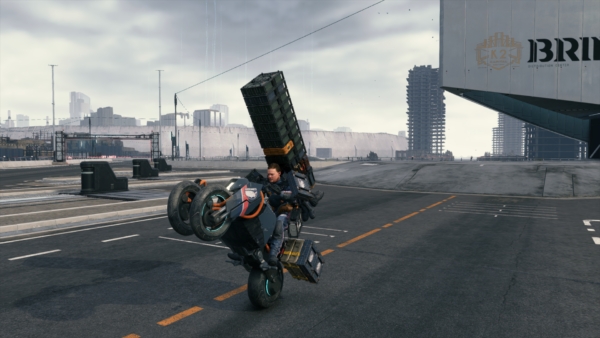 Death Stranding PC - Tricycle the fun!