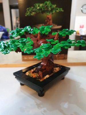 Green LEGO Bonsai