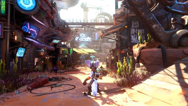 Insomniac Games has to be an absolute Golden Goose for Sony. In 2019 they paid a mere $230 million for a AAA studio that consistently and more importantly quickly, churns out top quality games. Only 7 months after helping the PS5 launch with Spider-Man: Miles Morales. Insomniac have dropped a new PS5 exclusive - Ratchet and Clank: Rift Apart…and as expected. It is a stunning example of a top tier studio putting powerful next-gen hardware to work.