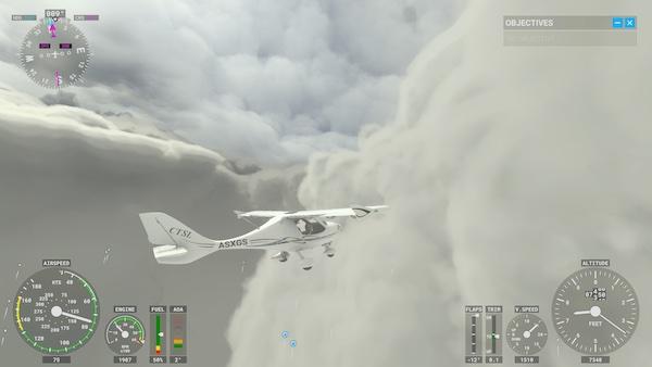 MS Flight Simulator