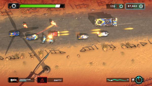 Gearshifters Desert Combat